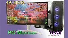 pc monitor test best 4k hdr monitor for pc lg 27uk650 w 4k hdr monitor