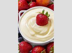 creamy fruit dip_image