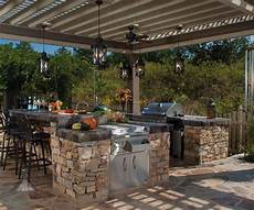 outdoor kitchen designing the backyard cooking station