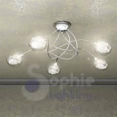 plafoniere moderne da soffitto lada soffitto design moderno acciaio cromto palline