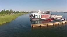 wohnen auf dem wasser schwimmende ferienh 196 user hausboote goitzsche resort