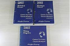 free service manuals online 2002 ford crown victoria free book repair manuals 2002 ford crown victoria grand marquis workshop manual wiring diagrams book set ebay