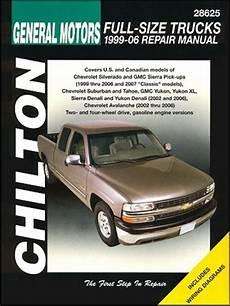 old car repair manuals 2006 chevrolet silverado hybrid user handbook silverado sierra tahoe suburban yukon repair manual 1999 2006