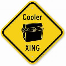 Coole Malvorlagen Xing Cooler Xing Novelty Crossing Sign With Graphic Sku K 0930
