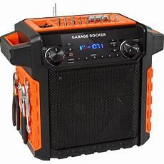 B Orange Garage by Ion Audio Garage Rocker Wireless Worksite Garage Rocker Orange