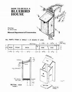 bluebird house plan bluebird houses for march nesting blueprints bluebird