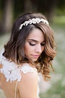 Brautfrisuren F 252 R Mittellange Haare Ideen Brautfrisur