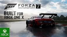 forza 7 xbox one forza motorsport 7 built for xbox one x