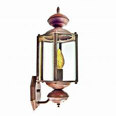 exterior porch light 16 quot outdoor brass wall lantern fired clay finish 213 05 ebay