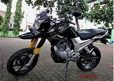 Scorpio Modif Supermoto by Modifikasi Scorpio Ala Supermoto