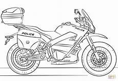 motorcycle coloring page free printable coloring
