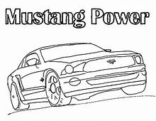 Mustang Car Picture Coloring Pages  Best Place To Color
