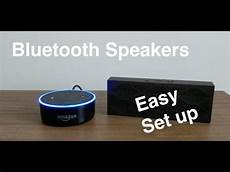 Echo Dot Bluetooth - how to pair bluetooth speakers to echo dot 2nd