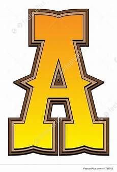 letters and numbers western alphabet letter a stock