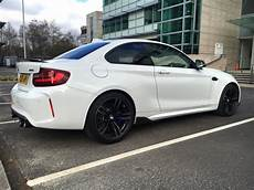alpine white 2016 bmw m2 coupe with m performance parts spotted in the uk bmw car tuning