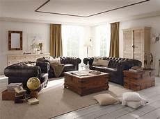 chesterfield braun von massivum de wohnzimmer einrichten wohnzimmer ideen und chesterfield