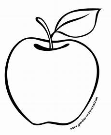 Gambar Buah Apel Yang Belum Diwarnai Koleksi Gambar Hd