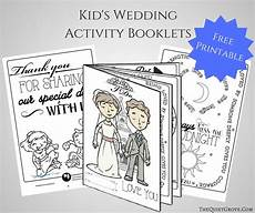 free printable kid s wedding activity booklet the quiet grove