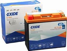 batterie lithium moto batterie moto exide lithium elt12b 12v 60wh