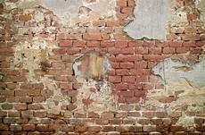 Vintage Brick Wall Texture Crumbling Antique Walls