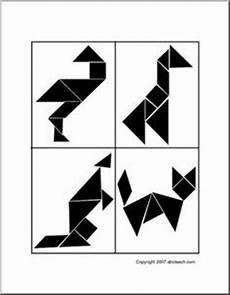 tangram kinder malvorlagen word tangrams printable tangram kindergarten