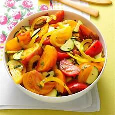 heirloom tomato zucchini salad recipe taste of home