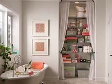 creative ideas for decorating a bathroom optimize your bathroom storage hgtv