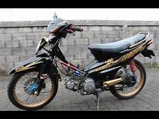 Smash Modifikasi by Modifikasi Motor Suzuki Smash Terbaru Modifikasi Motor