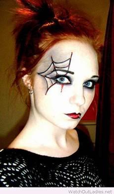 Spinne Make Up Inspiration Kinder Schminken