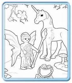 Ausmalbild Playmobil Einhorn Ausmalbilder Einhorn Mit Fee Ausmalbilder Fee