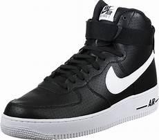 nike air 1 high 07 shoes black white