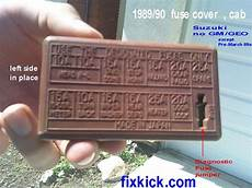Suzuki Sidekick Repair Forum Help Me Ecu 33920 60a90