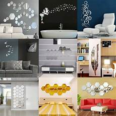 home decor decals removable mirror decal mural wall stickers home decor
