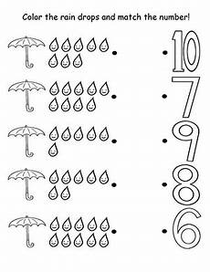 weather math worksheets preschool 14622 counting raindrops preschool worksheets preschool weather weather worksheets