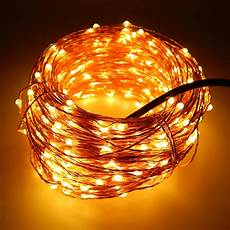 6 colors 50m 165ft 500 leds copper wire warm white led string light starry lights includes
