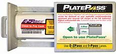 platepass advantage electronic toll payment system for