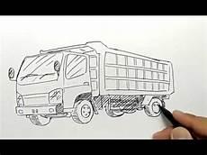 Cara Menggambar Mobil Truck Dengan Mudah Dan Cepat