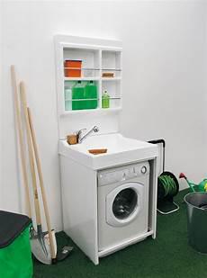 Waschmaschine Unter Dem Waschbecken Komplett Mit Sp 252 Le 51