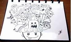 20 Contoh Gambar Doodle Simple Mudah Di Tiru Di 2020