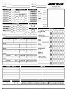 star wars d20 saga edition character sheet