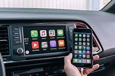 Seat Driveapp Connected Car Mit Apple Carplay Autobild De