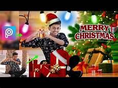 merry christmas picsart photo editing tutorial merry christmas 2017 youtube