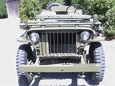 Classic Military Automotive &187 1941 WILLYS SLAT GRILL DOD
