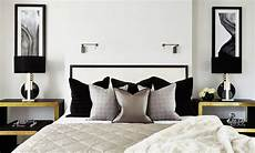 Schlafzimmer Schwarzes Bett - 35 timeless black and white bedrooms that how to