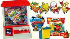super zings automat na słodycze losujemy figurki niesodzianki youtube