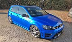 Vw Golf 7 R Vollverklebung In Blau 6 K Folia Perfekte