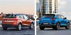 comparativa seat arona vs volkswagen t roc carnovo