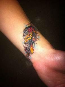 feder handgelenk 57 attractive wrist feather tattoos