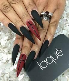 best 25 goth nails ideas on pinterest goth nail art