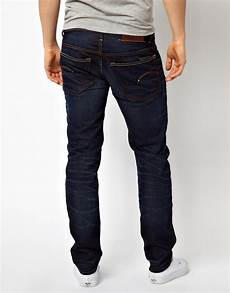 lyst g g 3301 low tapered fit